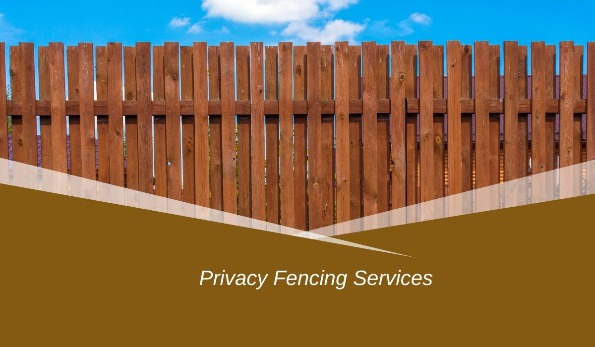 Privacy Fence Companies Near Me